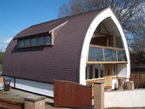 strawbalehouse side